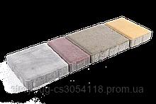 Тротуарная плитка «Австрийская брусчатка», красный, 40 мм, заводское качество