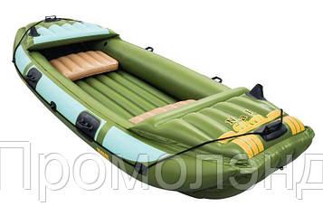 Туристическая надувная лодка Bestway 65008 Neva III