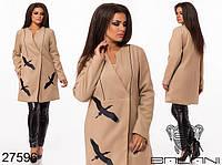 Элегантное пальто средней длины с 48 по 54 размер, фото 1