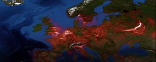 Забруднення повітря суне Європою - анімаційна карта