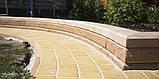 Тротуарная плитка «Австрийская брусчатка», белый, 40 мм, заводское качество, фото 4
