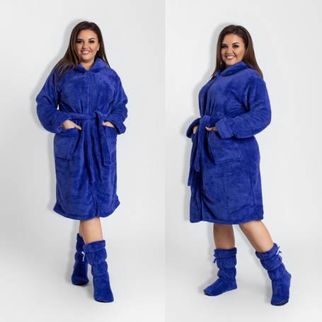 Халаты махровые женские больших размеров