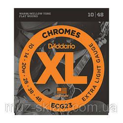 Струны для электрогитары D`ADDARIO ECG23 XL
