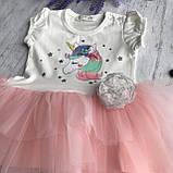 Літнє плаття на дівчинку Breeze од. Розмір 74 см, 80 см, 86 см, 98 см, фото 2