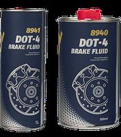 Тормозная жидкость Mannol Brake Fluid DOT-4 0.5L