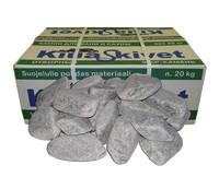 Камень талько-хлорит обвалованный для бани и сауны