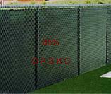 Сетка затеняющая, маскировочная для забора в рулоне 1,5м*100м 85% Венгрия защитная оптом от 1 рулона, фото 6