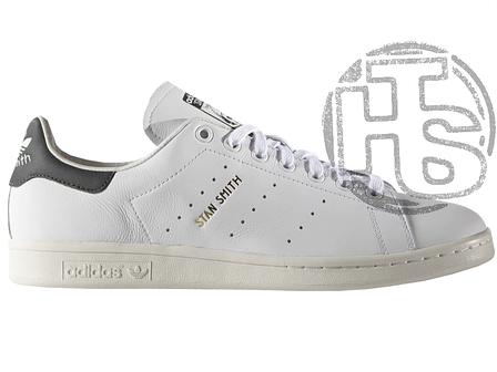 Мужские кроссовки Adidas Stan Smith White/Black S75076, фото 2