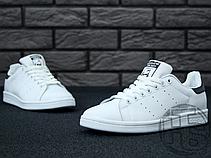 Мужские кроссовки Adidas Stan Smith White/Black S75076, фото 3