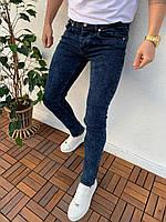 Джинсы мужские синие узкие брендовые