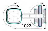 Потолочная консоль с одинарным плечом — анестезиологическая с приводом от двигателя, фото 2