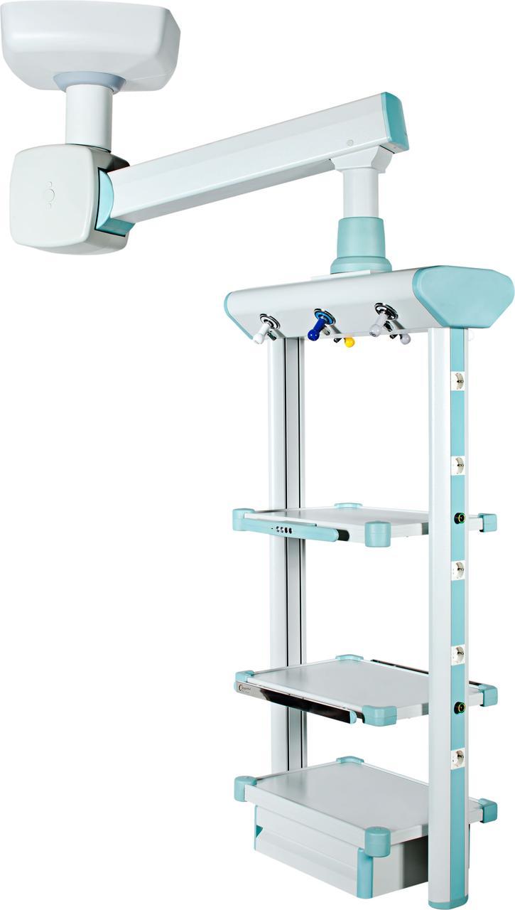 Потолочная консоль с одинарным плечом — анестезиологическая с приводом от двигателя