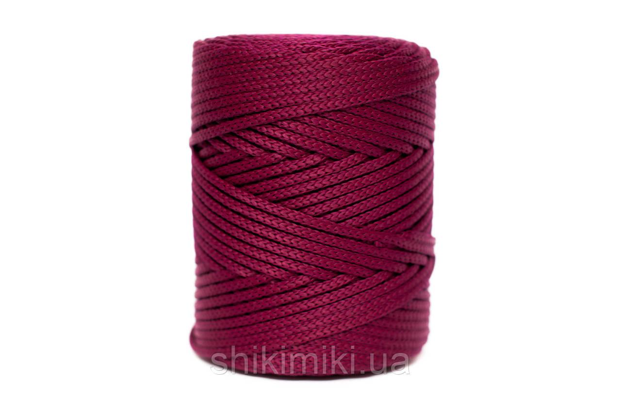 Трикотажный полипропиленовый шнур PP Cord 5 mm, цвет Винный