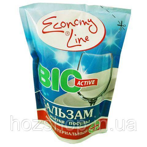 Гель для мытья  посуды  Economy Line  450г (Антибактеріальний ) БАЛЬЗАМ (1 шт)