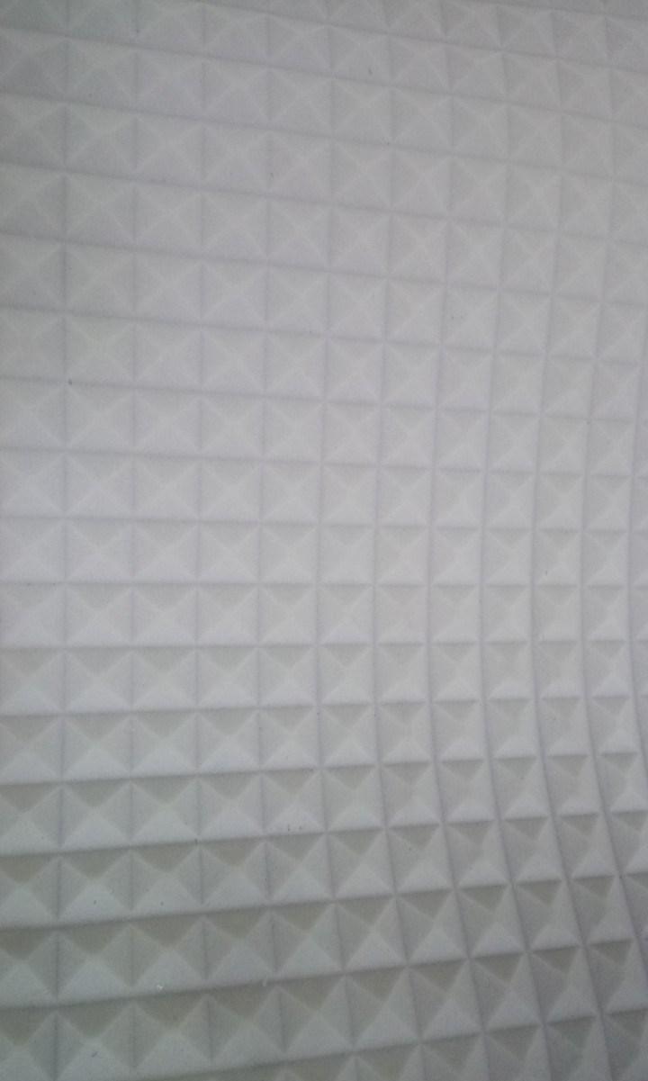 Звукоизоляция стен и потолков  (белый) 1 м * 1 м , 15 мм