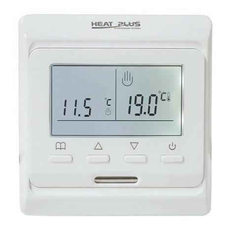 Терморегулятор HEAT PLUS TOP FLOOR M6.716 (программируемый) Heat Plus (Южная Корея), фото 2
