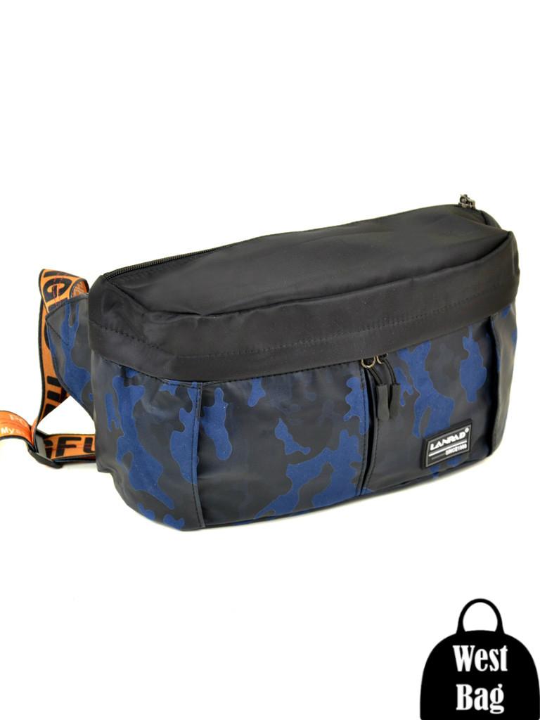 07765ed9b9b3 Сумка Мужская поясная нейлон Lanpad 310 blue, цена 220 грн., купить ...