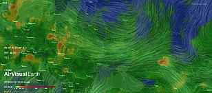 3D-глобус Air Pollution