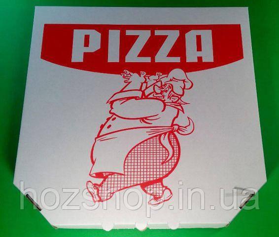 Коробка для пиццы 45см c печатью Pizza (50 шт)