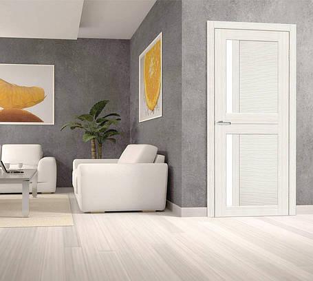 Дверное полотно NOVA 3D №1 premium White, фото 2