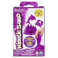 Песок для детского творчества - KINETIC SAND NEON (фиолетовый, 227г)