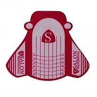 Формы Salon SP-0403 красные с белым 500 шт