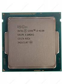 Процессор Intel Core™ i3-4160, 2 ядра, 3.60GHz, BX80646I34160, s1150, tray