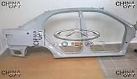 Боковина правая / панель боковая кузова, седан, BYD F3 [1.6, до 2010г.], 10146555-00, Original parts