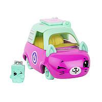 Мини-машинка SHOPKINS CUTIE CARS S3 - НОУТ-ВРУМ (с мини-шопкинсом)