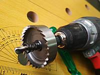 Коронка по металлу Р6М5, для дрели__16 мм//км-016