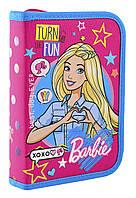 """Пенал твёрдый с двумя клапанами HP-04 """"Barbie"""" «1 Вересня» 532196, фото 1"""