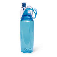Бутылка спортивная для воды Kamille 570мл из пластика