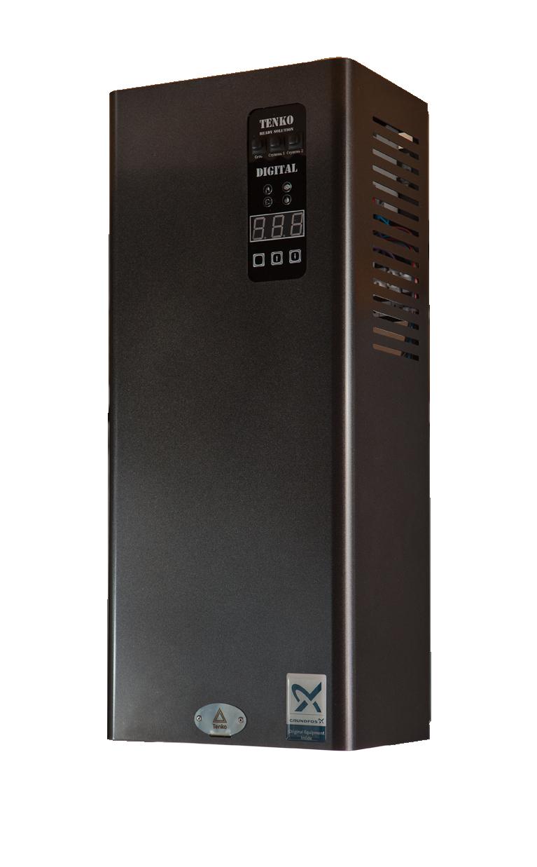 Электрокотел Tenko серии Standart Digital Grundfos 15 кВт - 380 В