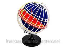 Глобус-модель Паралелы та меридыани Землі