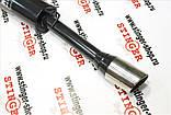 Глушитель прямоточный STINGER  ЛУЧШАЯ ЦЕНА с насадкой без выреза бампера для ВАЗ 2110-11, фото 2