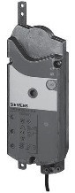 Siemens GBB131.2E, 550N, без возвр.пружины, 3pt, 24В AC