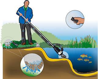 Пылесосы для пруда и водоема