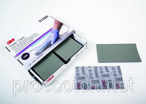 3M™ 51262 Гибкие листы Trizact на вспененной основе, Р6000, 8см х 14см