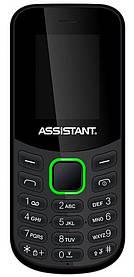Мобильный телефон Assistant AS-101 Black Гарантия 12 месяцев