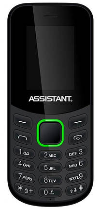 Мобильный телефон Assistant AS-101 Black Гарантия 12 месяцев, фото 2