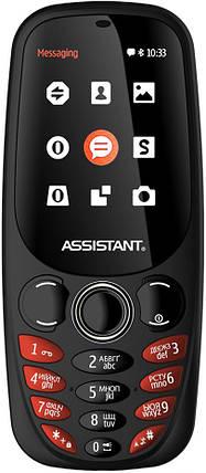 Мобильный телефон Assistant AS-201 Black Гарантия 12 месяцев, фото 2
