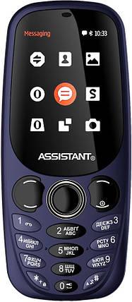 Мобильный телефон Assistant AS-201 Blue Гарантия 12 месяцев, фото 2