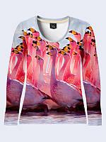 Лонгслив Фламинго