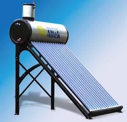 Cолнечный коллектор для нагрева воды SD-T2L-10 Altek с баком на 100л