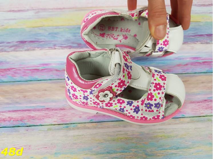 Детские босоножки для девочки закрытые для самых маленьких В НАЛИЧИИ 22,23 РАЗМЕР