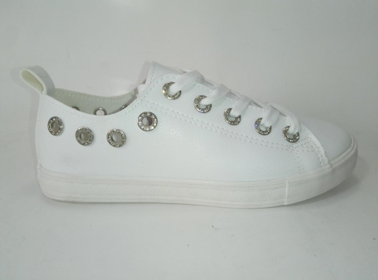Женские кеды на шнурках ТМ Sopra, фото 1