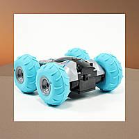 Перевёртыш на радиоуправлении YinRun Speed Cyclone с надувными колесами на батарейках, серый - 139518