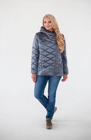 Куртка женская деми размеры 52-58, фото 2
