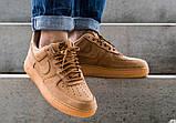 """Мужские кроссовки  Nike Air Force 1 '07 WB """"Flax""""  AA4061-200, фото 5"""