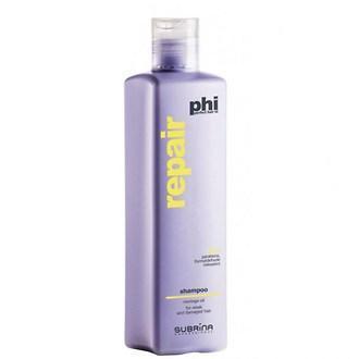 Шампунь PHI для поврежденных волос с маслом моринги, 250 мл